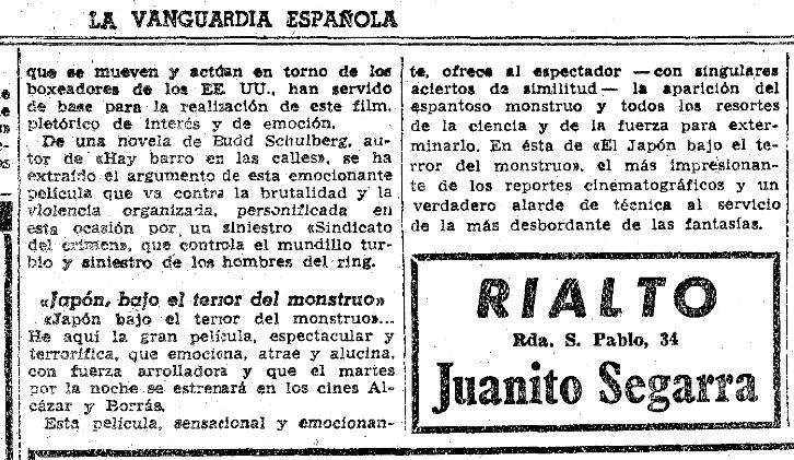 La.vanguardia.4 de noviembre de 1956